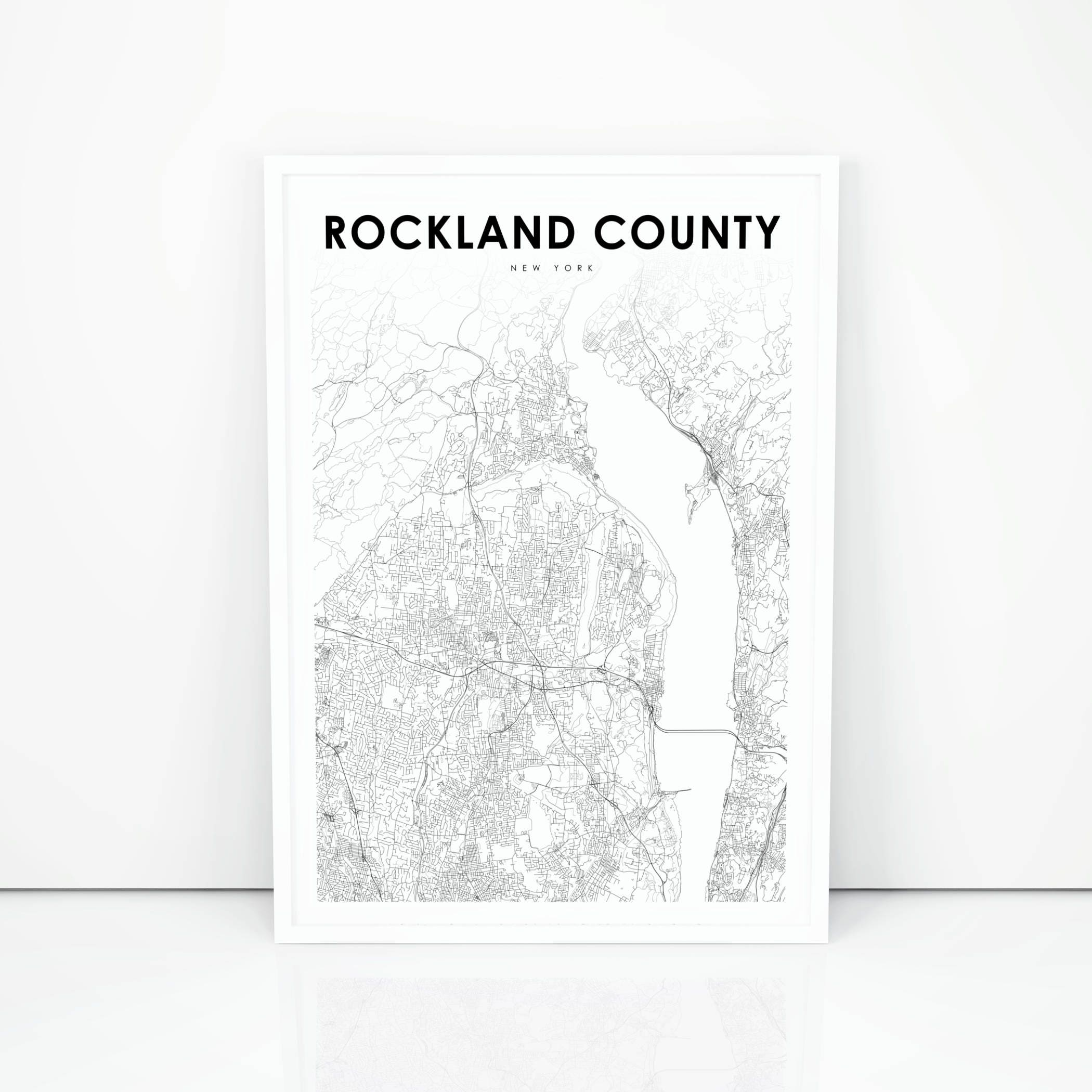 Rockland County Map Print, New York NY USA Map Art Poster, City Street on rockland county ny zip codes list, rockland county ny weather map, gloucester county nj street map, orange and rockland counties ny map, tioga county ny street map, rockland county ny hotel, oneida county ny street map, bergen county street map, sullivan county ny street map, trumbull ct street map, monroe ny map, rockland county ny history, cape may county nj street map, camden county nj street map, suffolk county ny street map, hudson county nj street map, rockland county ny map cities towns and villages, dutchess county ny street map, north rockland ny map, niagara county ny street map,
