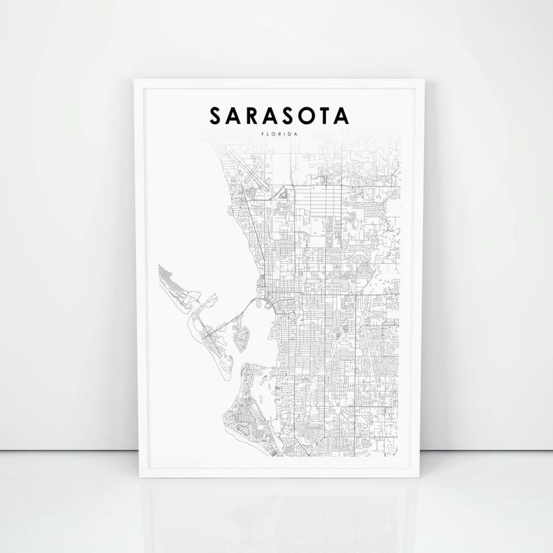 Sarasota Map Print, Florida FL USA Map Art Poster, City Street Road on street map indianapolis indiana, venice florida, street map montgomery alabama, street map palm bay, key west florida, street map st. thomas, long beach map florida, street map syracuse new york, mexico beach hotels in florida, street map sarasota florida4596 ashton, street map clearwater, street map st. john, street map madison wisconsin, street map jackson mississippi, street map mesa arizona, street map downtown sarasota, street map fort myers, street map cocoa beach, street map fort wayne indiana, map of florida,