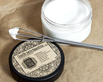 Whipped Shea restorative large format: Lavender and Geranium