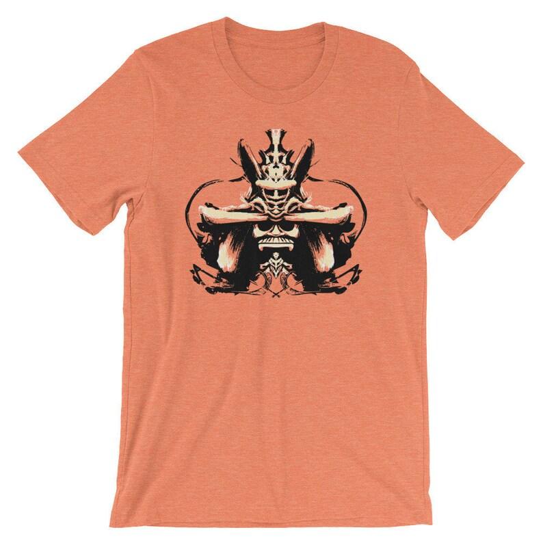 1b2c8476 Samurai Shirt Samurai Helmet Shirt Samurai Warrior | Etsy
