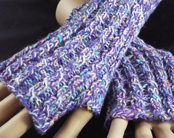 Hand warmers, wrist warmers, gloves, knitting, hand knitting