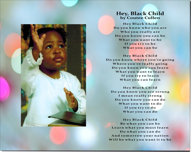Poem and baby and black erotica