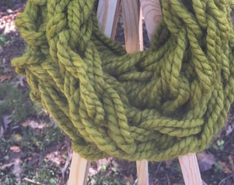 Cozy Wool Cowl Neckwarmer