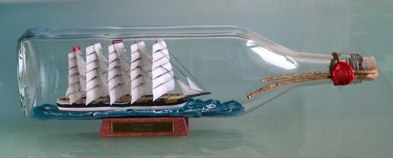 Buddelschiff Prussen 1 litre image 0