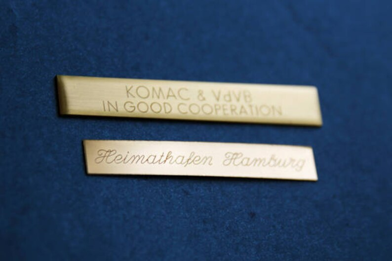 Hand engraving two lines 60 characters image 0