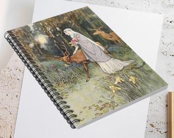 WARWICK GOBLE  Lined Journal  Bullet Journal Spiral Notebook
