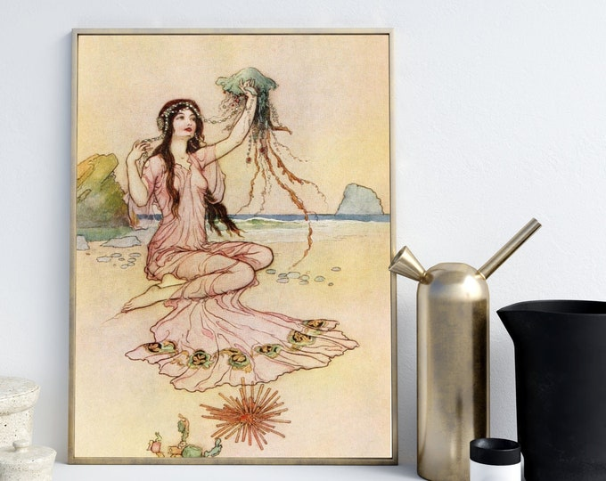 Warwick Goble Poster Wall Art For Home Decor
