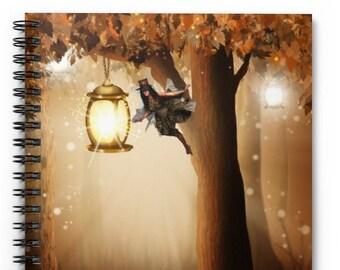 STEAMPUNK FAIRY BLANK Journal - Bullet Journal, Blank Notebook, Lined Journal