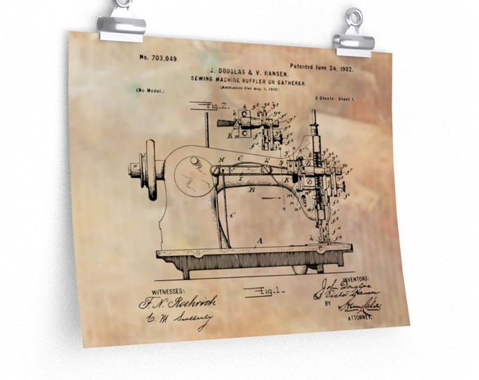 SEWING MACHINE ART, Sewing machine print, Sewing Room Decor, Sewing Art, Sewing Room Decor, Craft Room Decor