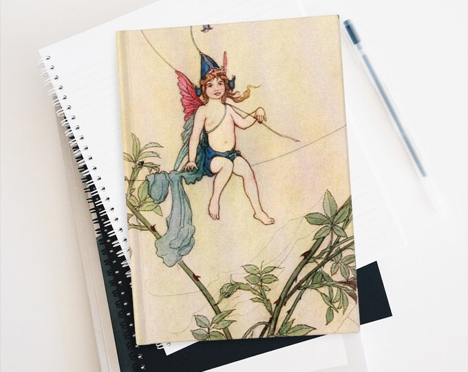 WARWICK GOBLE, Puck, Drawing Journal, Dream Journal, Blank Journal, Travel Diary, Sketchbook, Cherub, Manifest Journal, Bullet Journal