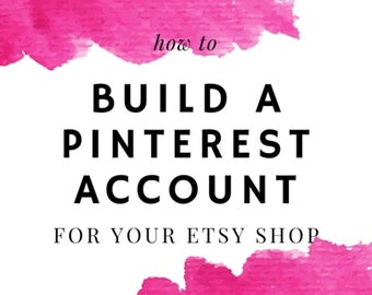 Build Your Etsy Shop Business Account - 7 Step Guide