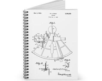 Sextent Patent Print Spiral Notebook - Ruled Line