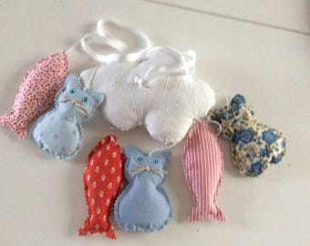 Decorative mobile for baby room mobile hanging, baby mobile