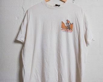 f876bc42d Vintage 90's Big Johnson Mountain Biking T Shirt Rude! College! Bro Style!  Soft! XXL 1267