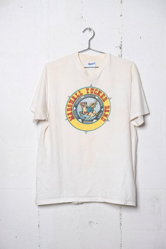 Vintage SIGNED 1995 Marshall Tucker Band Rock Concert Tour T Shirt Rare! Soft! L