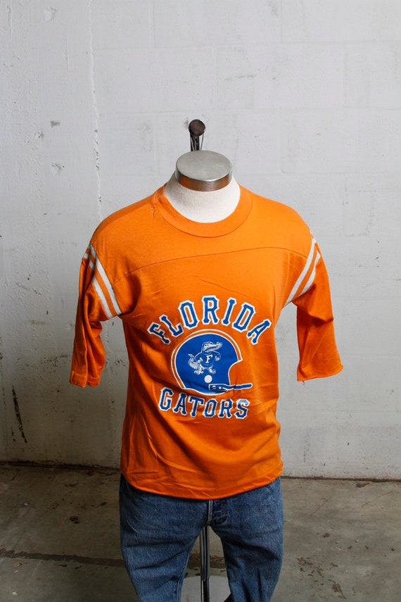 Vintage 80's Artex Florida Gators Fan Jersey Shirt Rare! Soft! L