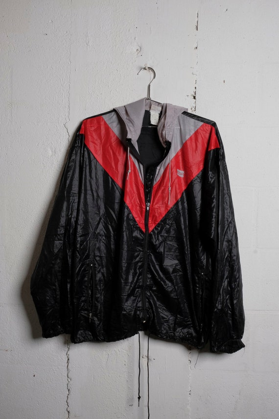 Vintage 80's Very Rare Levi's Nylon Light Duty Windbreaker Jacket L