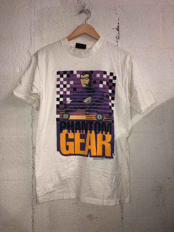 Vintage 1994 Phantom Gear Comic Art T-Shirt. Cool