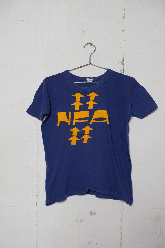 Vintage 80's NFA T Shirt Soft! L