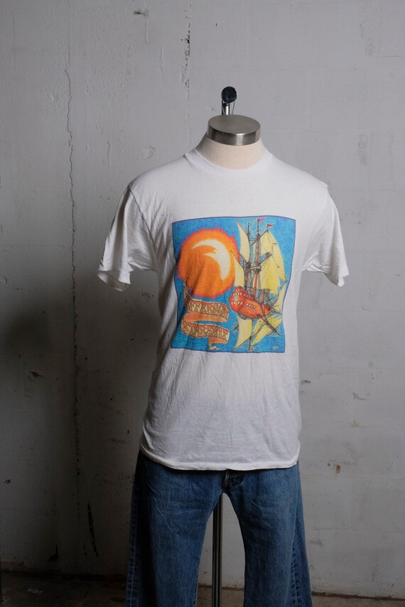 Vintage 1992 Jefferson Starship North American Band Rock Concert Tour T Shirt Soft! Rare L