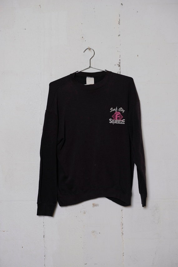 Vintage 80's Surf City Squeeze Juice Sweatshirt Rare! Soft! M