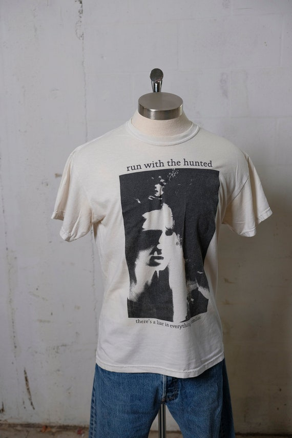 Vintage Run With The Hunted - Liar In Everything T Shirt Rare! M