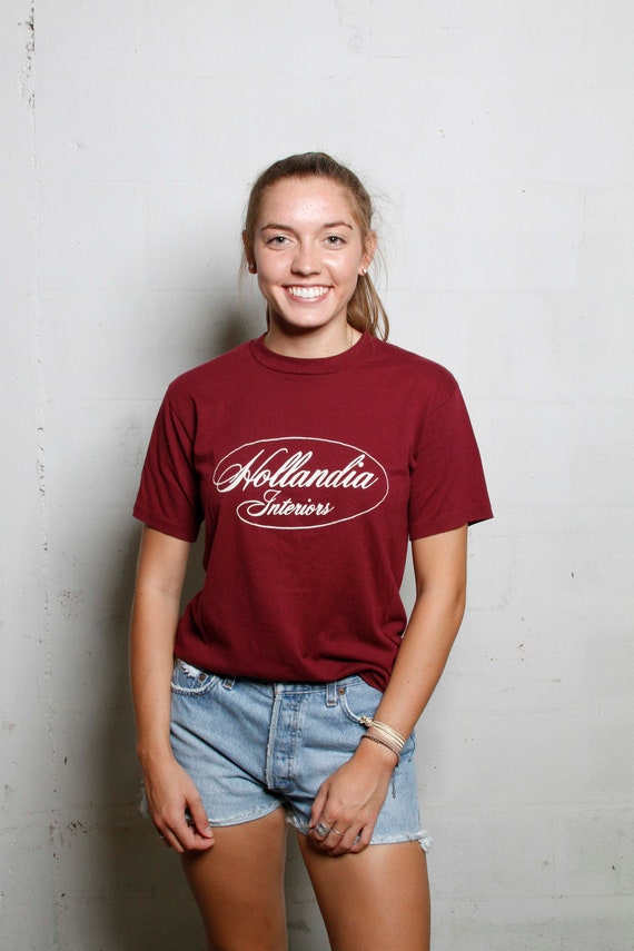 Vintage 90's Hollandia Interiors T Shirt Soft! M