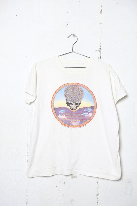 Vintage Grateful Dead Phil Graham August 16th 1987 Harmonic Convergence Teluride CO T Shirt Rare! Annshirts M