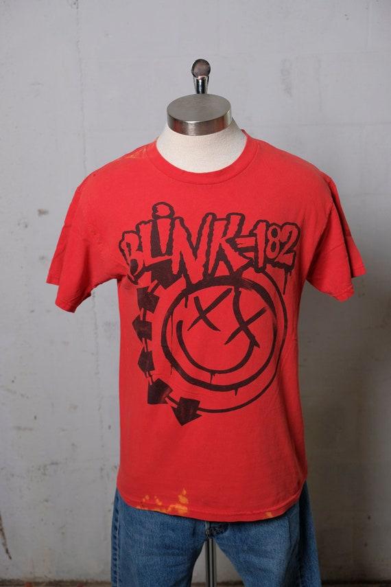 Vintage 90's Original Blink 182 Concert Band Tour T Shirt Punk Rock Mega Rare Soft! Thrashed! S