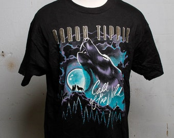 Vintage 90's Aaron Tippin Call of the Wild Concert Tour T Shirt XL