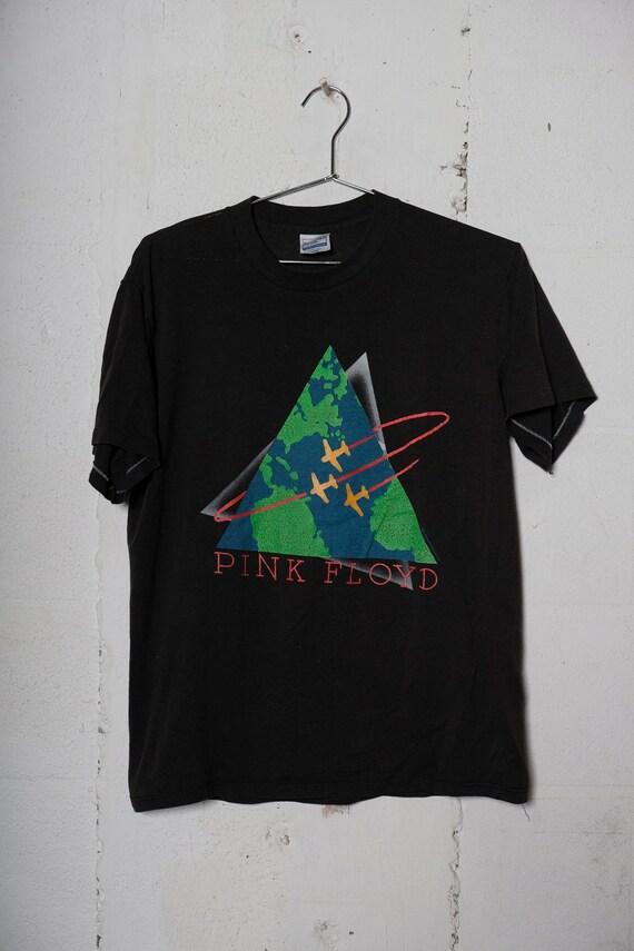 Vintage 1987 Pink Floyd World Tour Concert Band Tour T Shirt Rare! Soft! L