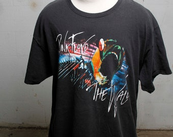 Vintage 90's Pink Floyd The Wall Band T Shirt XXL
