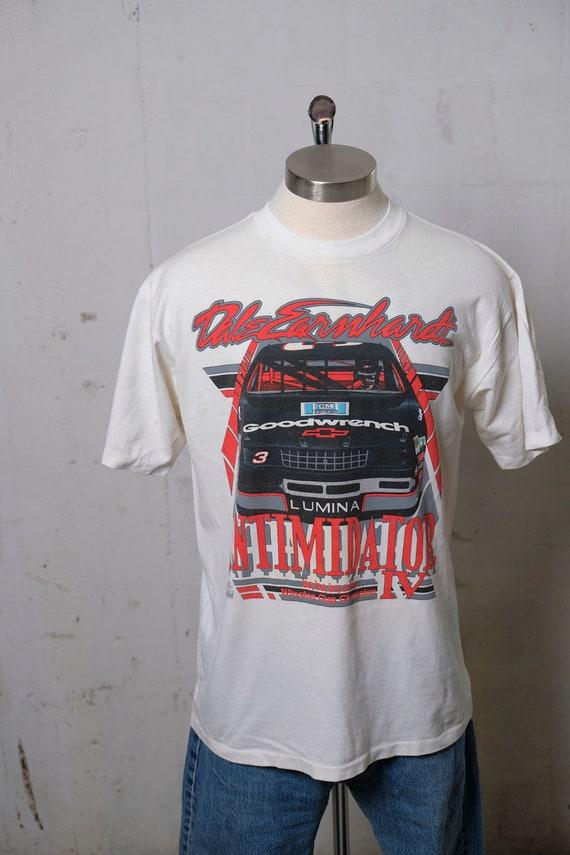 Vintage 1991 Dale Earnhardt Intimidator IV Nascar Tribute T Shirt L