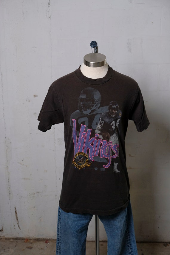 Vintage 90's Minnesota Vikings Football Fan T Shirt L