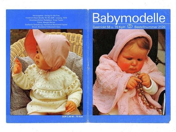 Pattern Toddler Baby Poncho Pattern Vintage Baby 4 Patterns Etsy