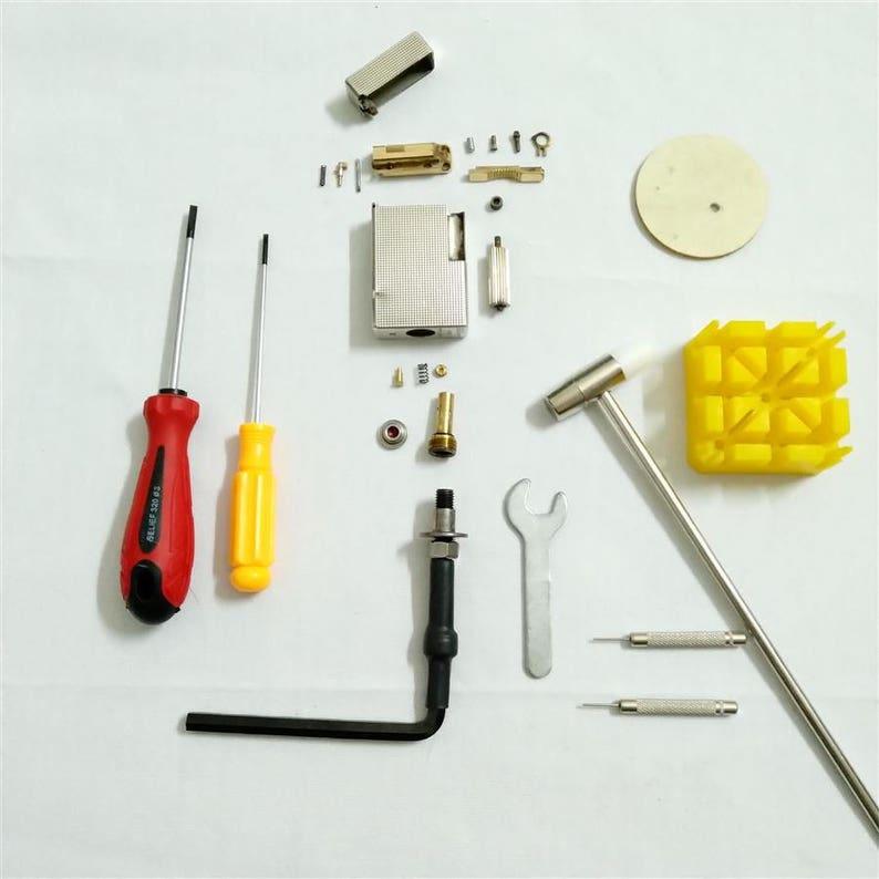 Dupont Feuerzeug Reparatur
