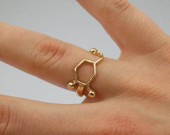 Dopamine (Motivation) Molecule Ring