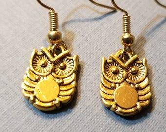 Owl Earrings 3
