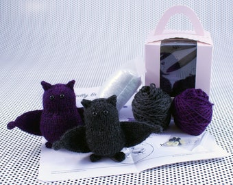 Wicked Chickens Yarn Wickedly Bewitching Pocket Bat Knitting Kit