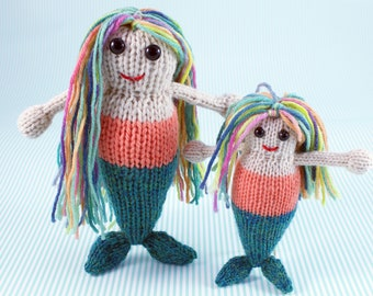 Wicked Chickens Yarn Wickedly Majestic Pocket Mermaid Knitting Pattern Instant Download PDF