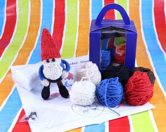 Wicked Chickens Yarn Wickedly Mischievous Pocket Gnome Knitting Kit