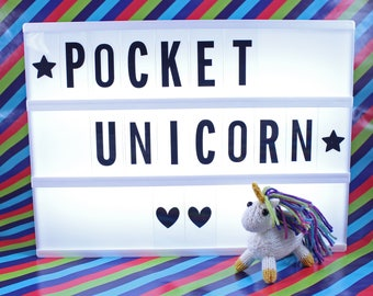 Wicked Chickens Yarn Wickedly Magical Pocket Unicorn Knitting Kit