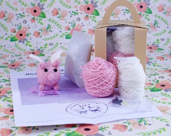 Wicked Chickens Yarn Wickedly Plucky Pocket Pig Knitting Kit