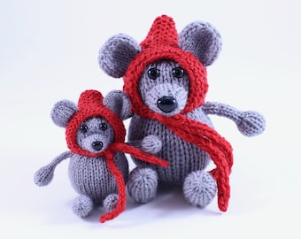 Wicked Chickens Yarn Wickedly Merry Mouse Christmas Ornament Knitting Pattern Instant Download PDF
