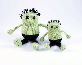 Wicked Chickens Yarn Wickedly Undead Pocket Zombie Knitting Pattern Instant Download PDF