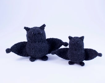 Wicked Chickens Yarn Wickedly Bewitching Pocket Bat Knitting Pattern Instant Download PDF