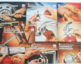 Vtg Livres collection utile par shell & time life books GUIDES D'INTERVENTION