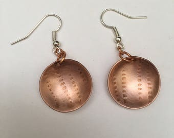 Copper Disc Danglers