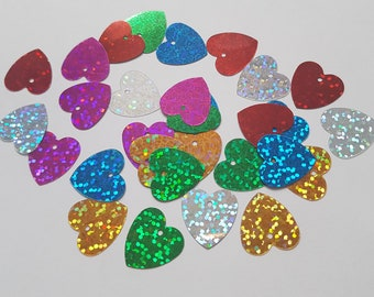 Dress Making 100 Pcs 10mm Holographic Sequins Cupped Round Embellishments