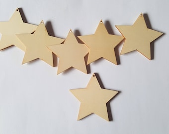 70mm Wooden Stars Wooden Stars Star Shapes Wooden Shapes Wood Craft Shapes Wooden Crafts Woodworking Star Stars Fantasy Shapes